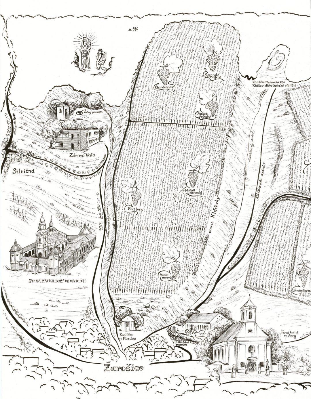 Mapa-vinic